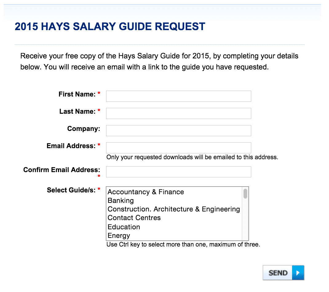 how to determine your salary in sydney before you move hays salary guide request form